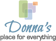 Donna's Place for Everything - Donna Balkovic, Professional Organizer