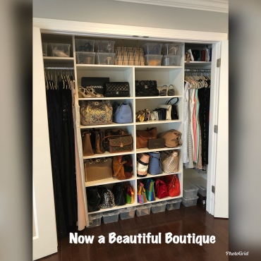 Fancy Closet After