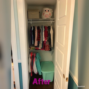 Kid Closet After